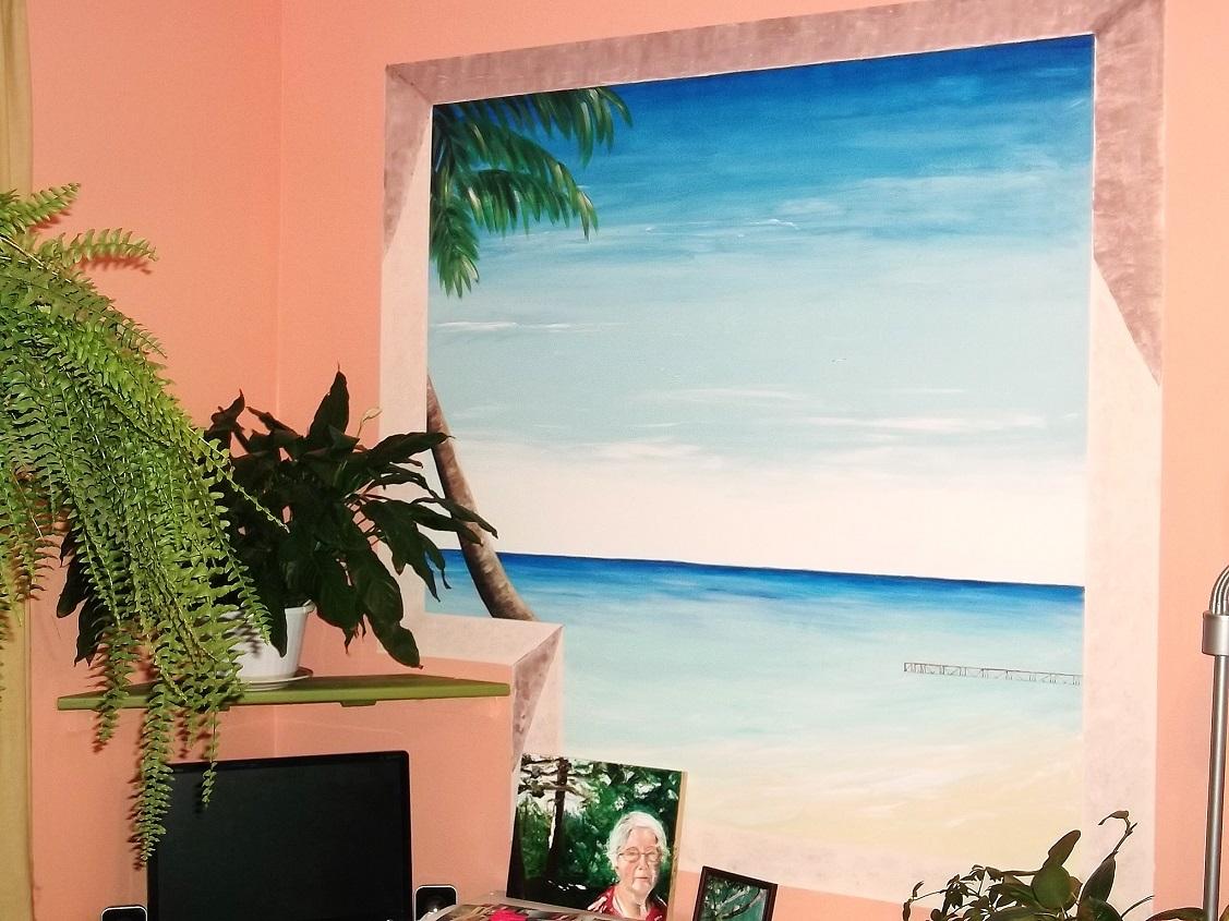 LiliFlore - murale peinture
