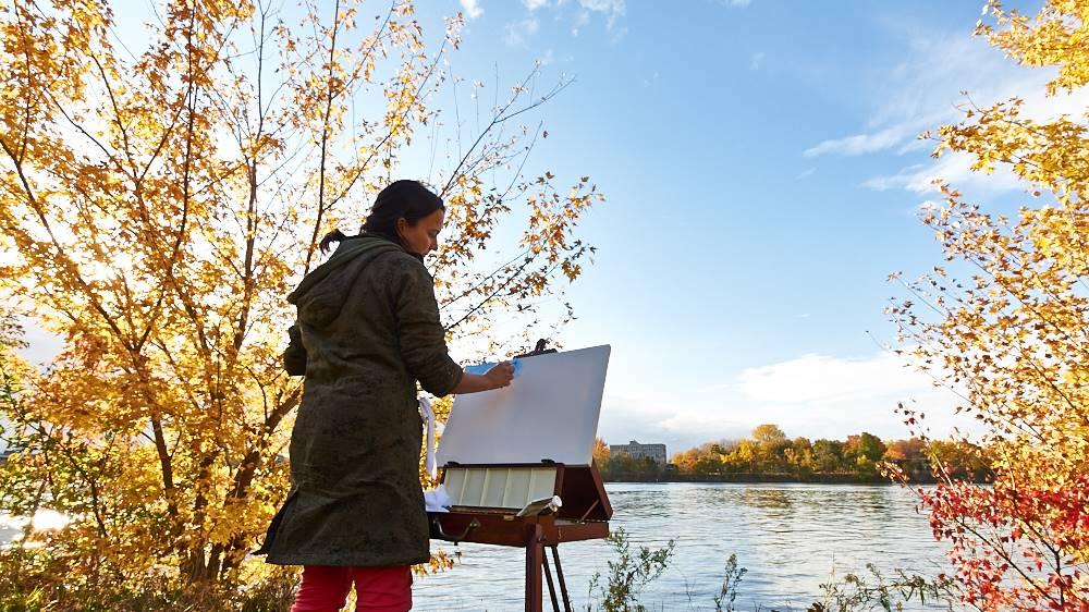 bienvenue sur mon nouveau blog de peinture  - liliflore