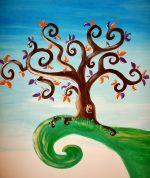 Murale peinture Liliflore