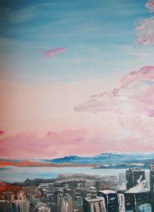 Belvedere Montreal peinture liliflore
