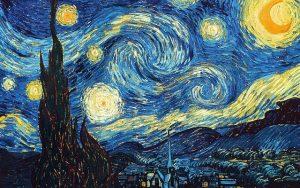 peinture inspirante Vincent Van Gogh la nuit étoilée blog LiliFlore
