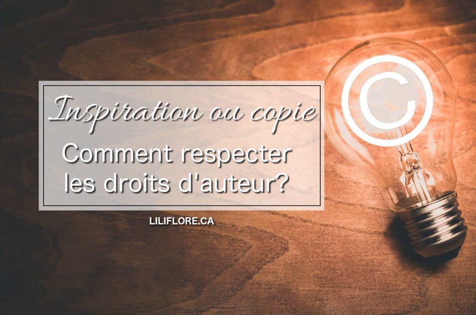 S'inspirer, copier: comment respecter les droits d'auteur?