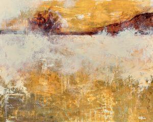 Un beau matin - acrylique sur toile - 16x24pouces - disponible - LiliFlore
