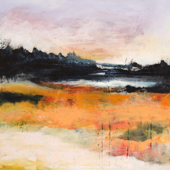 artiste peintre Laurentides LiliFlore peinture contemporaine cours et ateliers
