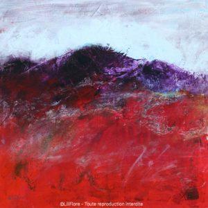 Toujours plus loin - Acrylique sur toile -12x12pouces - disponible - LiliFlore - peinture acrylique contemporaine -2019