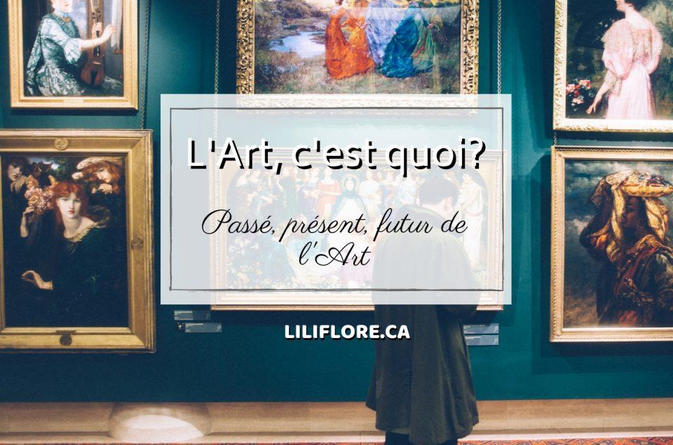 L'art, c'est quoi?