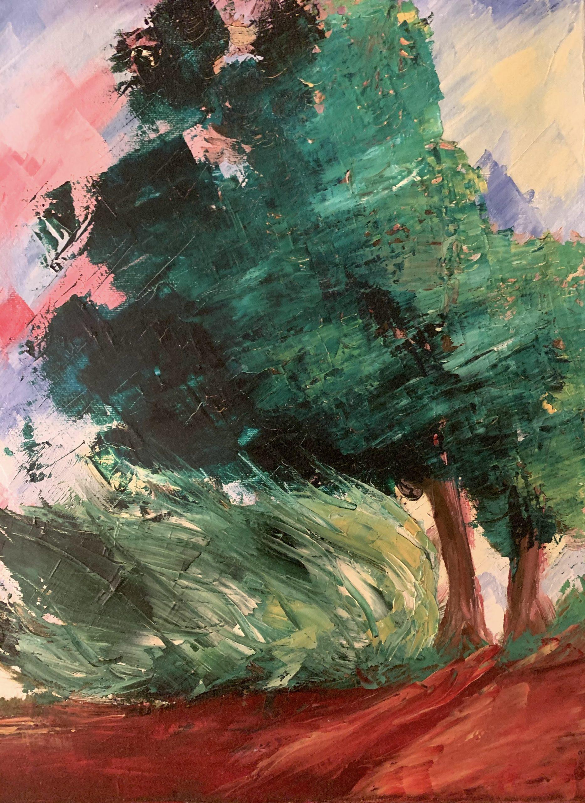 Huile sur toile - LiliFlore, artiste peintre