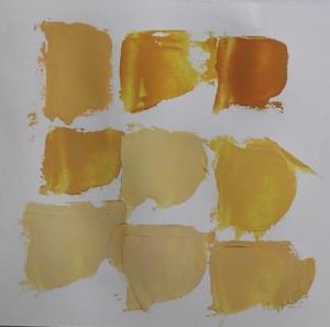 différentes couleurs sables en peinture acrylique à partir des couleurs primaires